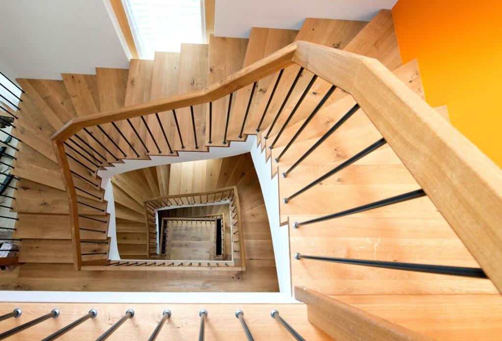 Treppenstufen auf Beton